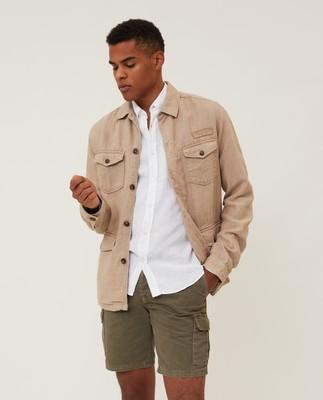 Drake Linen Safari Jacket