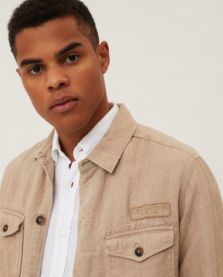 Drake Linen Safari Jacket