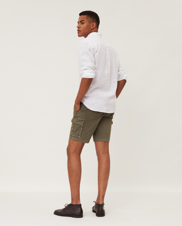 Ryan Linen Shirt, White