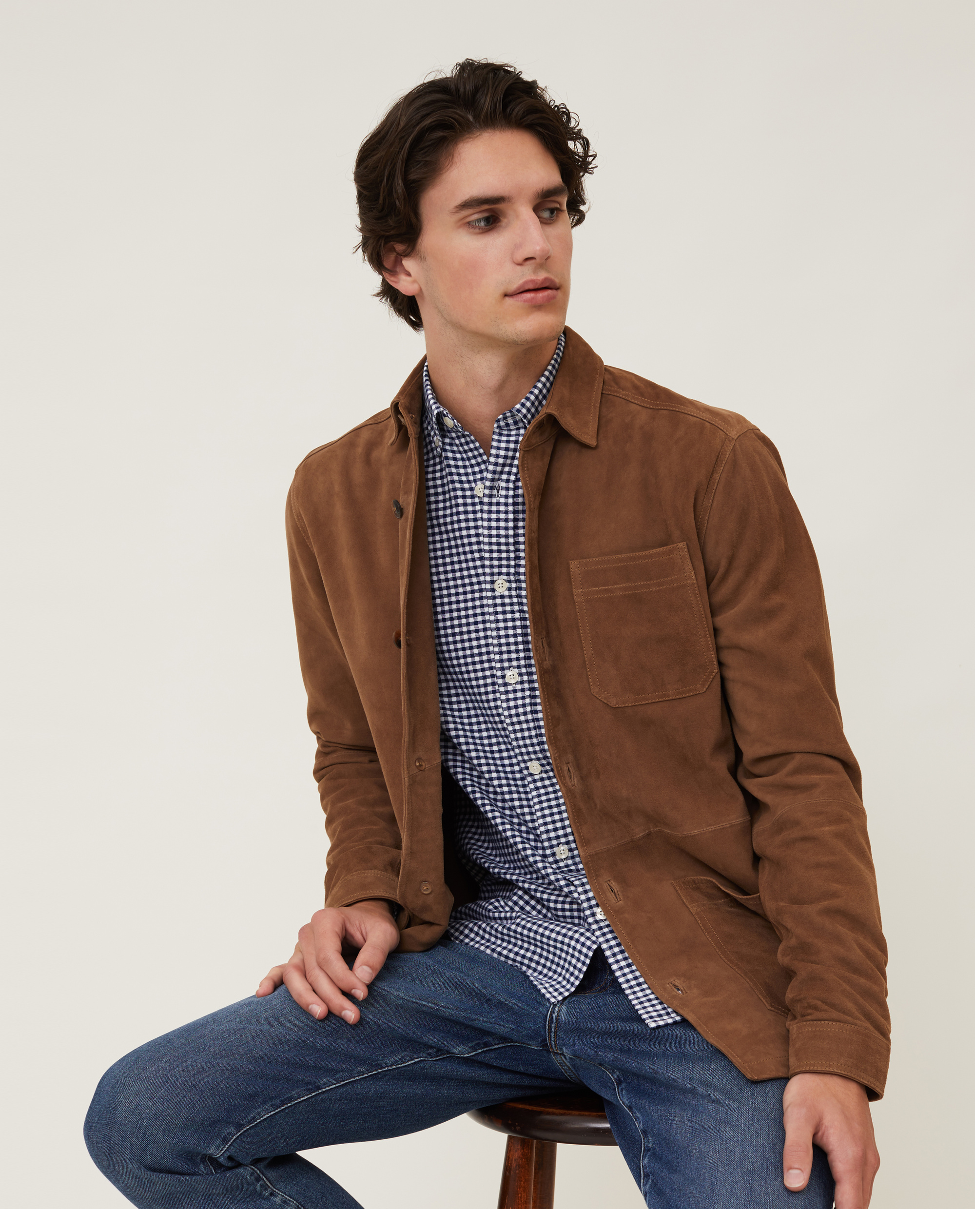 Robert Suede Overshirt