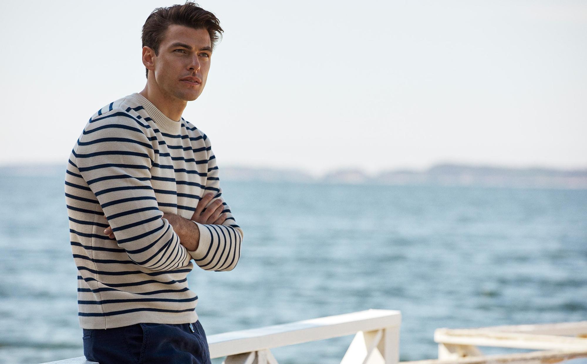 Martin Full Milano Striped Sweater