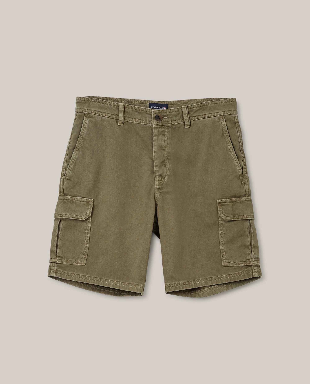 Obrien Twill Safari Shorts