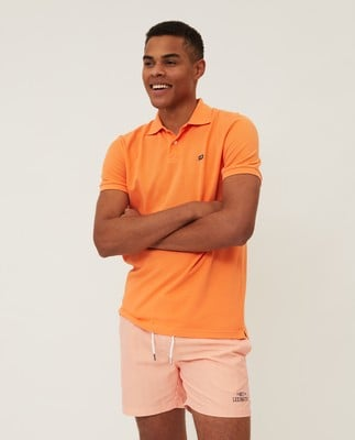 Jeromy Polo Shirt, Light Orange