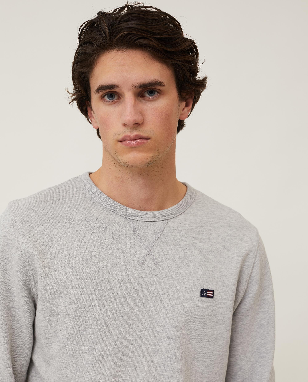 Mateo Sweatshirt, Light Gray Melange