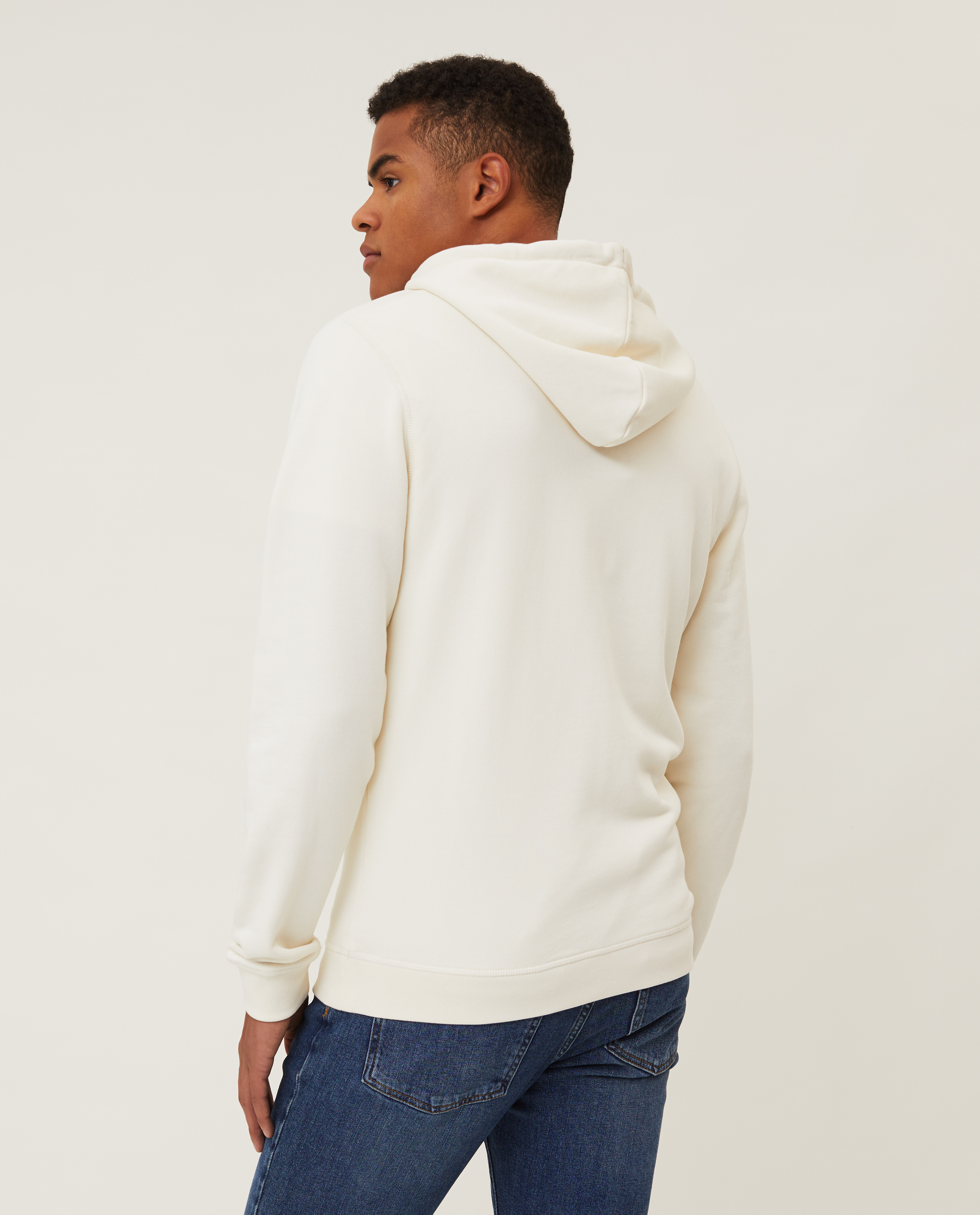 Perry Organic Cotton Hood, Offwhite