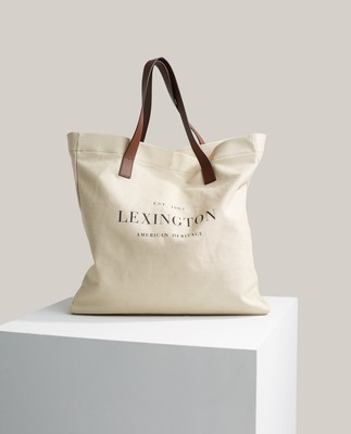 Lewis Canvas/Leather Shopper