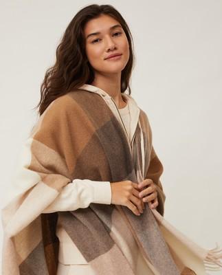 Palma Recycled Wool Blend Poncho