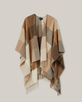 Palma Recycled Wool Blend Poncho