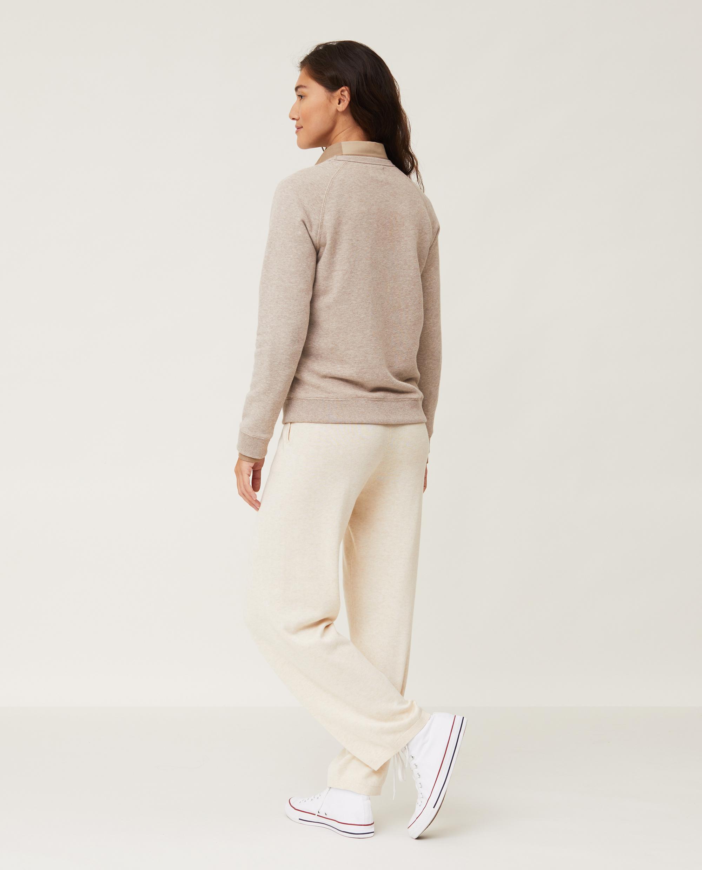 Nina Sweatshirt, Light Brown Melange