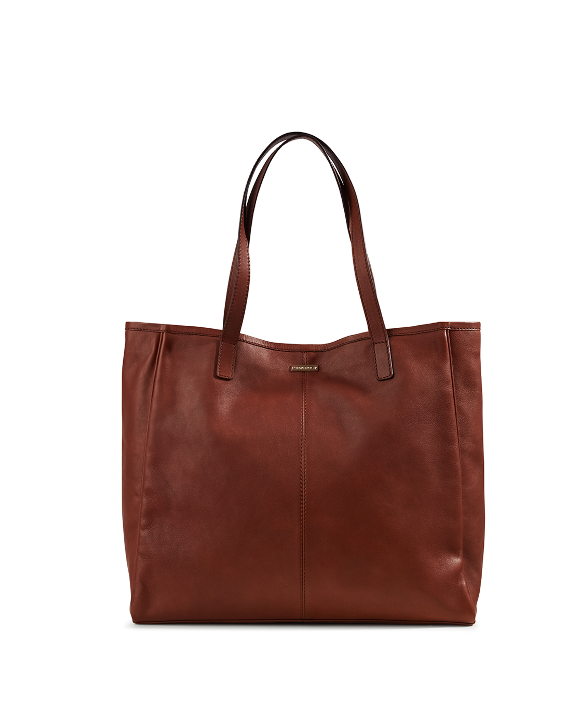 Wildflower Leather Tote Bag