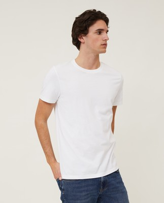 Ricky Organic Cotton Tee, White