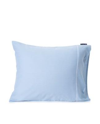 Blue/White Striped Tencel/Cotton Pillowcase