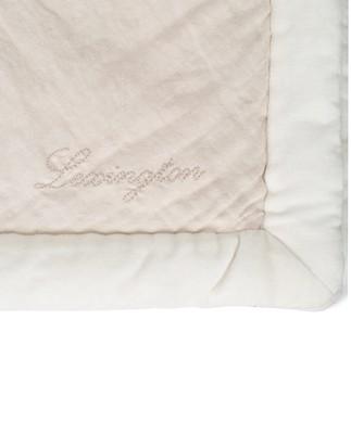 Patch Quilted Cotton Velvet/Linen Visc Bedspread