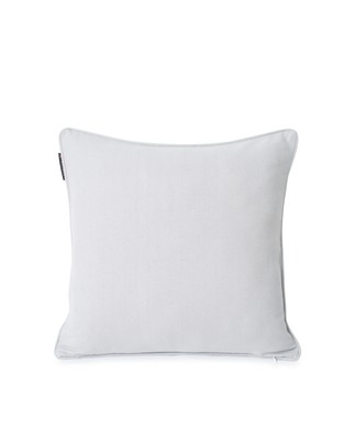 Original Logo Cotton Herringbone Pillow Cover