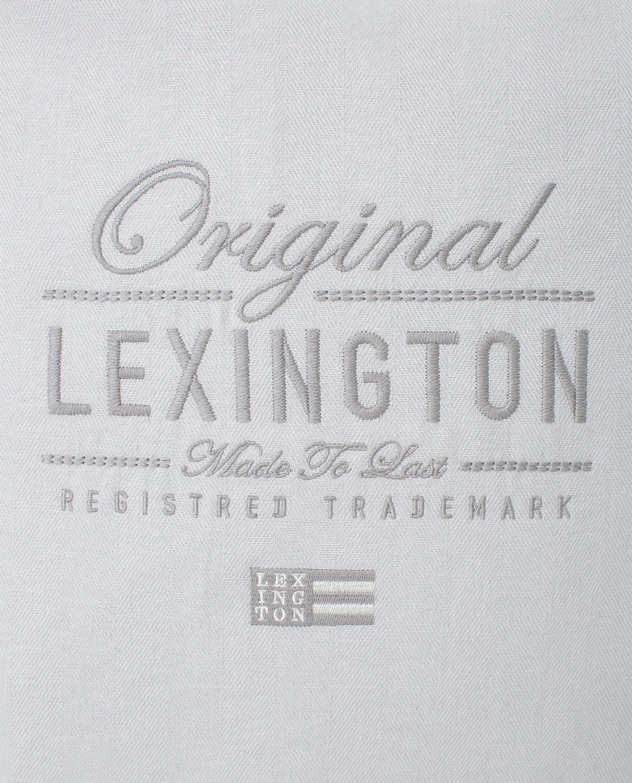 Original Logo Cotton Herringbone Pillow Cover