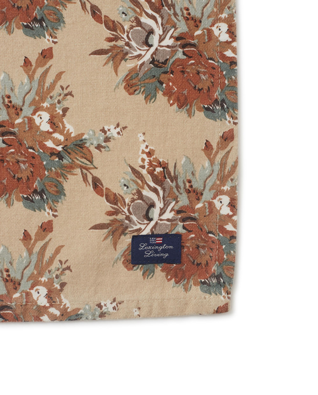 Printed Multi Flower Cotton Napkin