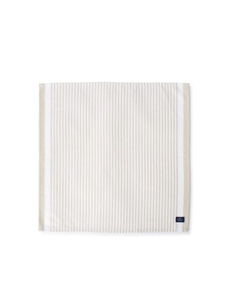 Striped Cotton Twill Napkin