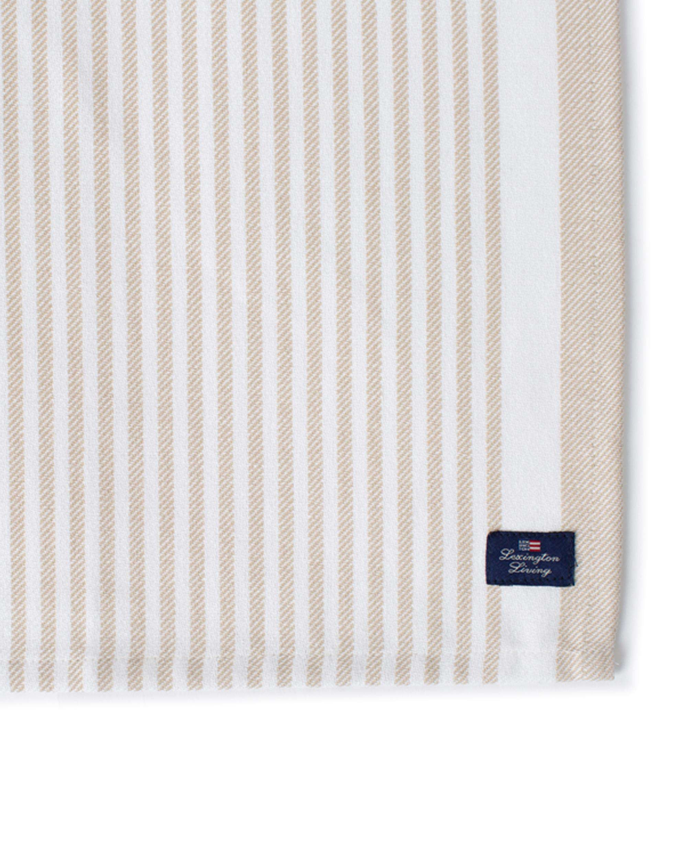 Striped Cotton Twill Napkin