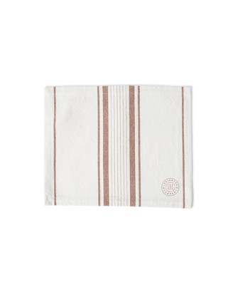 Striped Cotton Canvas Placemat