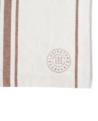Striped Cotton Canvas Runner