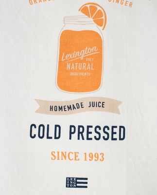 Printed Cotton Twill Cold Pressed Kitchen Towel