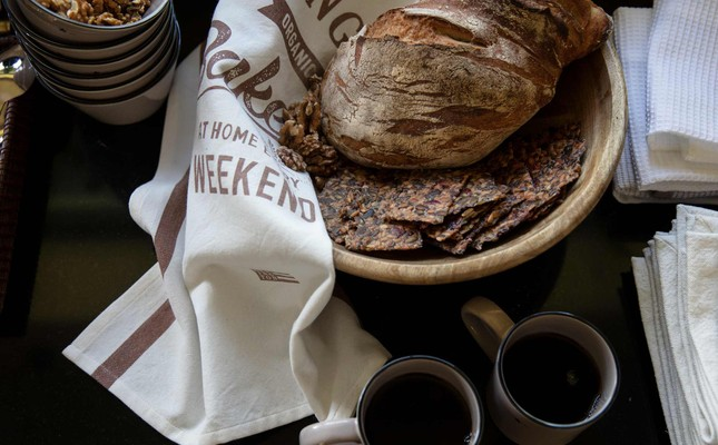 Printed Cotton Twill Bakery Kitchen Towel