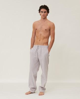 Men's Striped Organic Cotton Pants