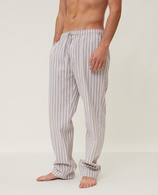 Men's Striped Organic Cotton Pants