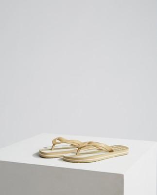Orlando Flipflop, Beige/White Stripe