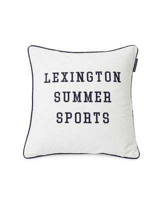 Summer Sports Cotton Twill Pillow Cover