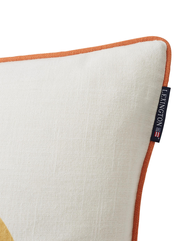 Surf Beach Logo Cotton Canvas Pillow Cover