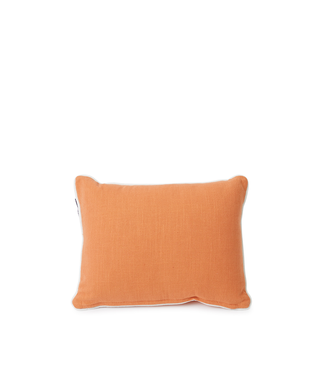 Summertime Small Cotton Canvas Pillow