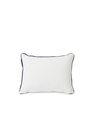 Gone To The Beach Small Cotton Canvas Pillow