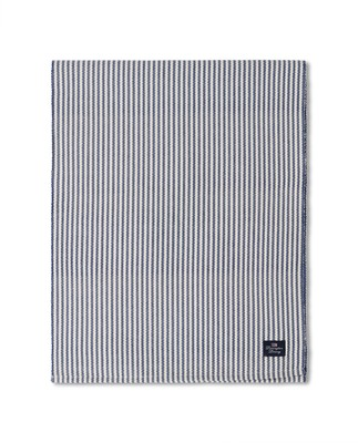 Striped Recycled Cotton Rips Runner Blue/White