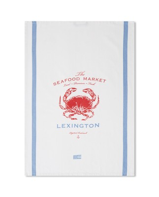 Crab Cotton Twill Kitchen Towel