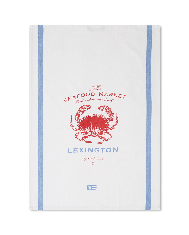 Crab Cotton Twill Kitchen Towel