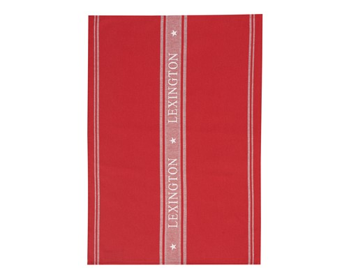 Star Kitchen Towel, Red/White