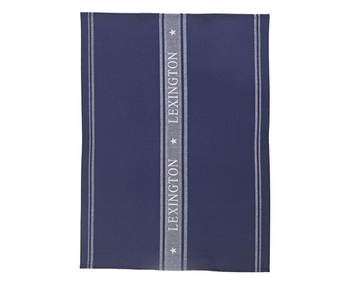 Icons Star Kitchen Towel, Navy/White