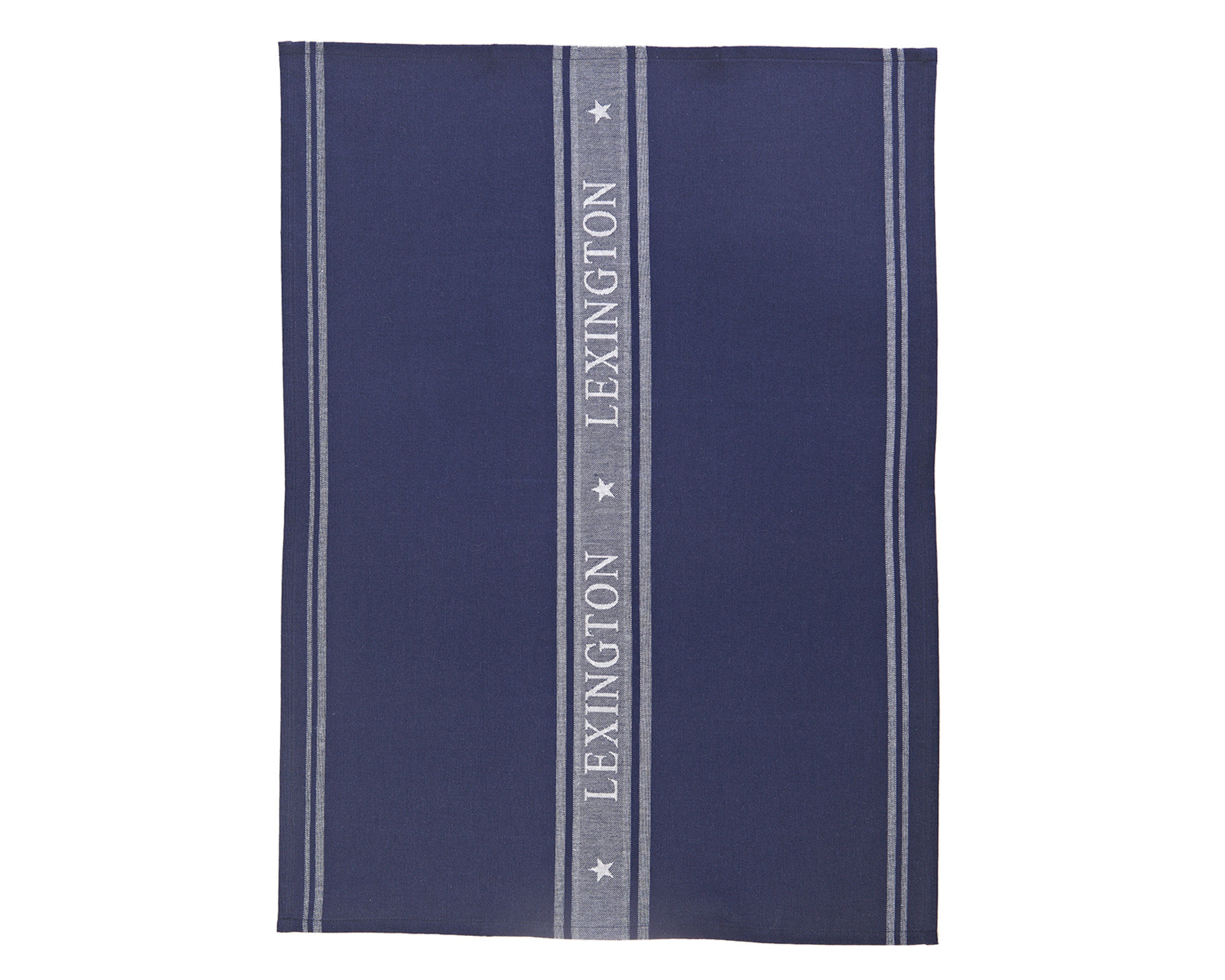 Star Kitchen Towel, Navy/White