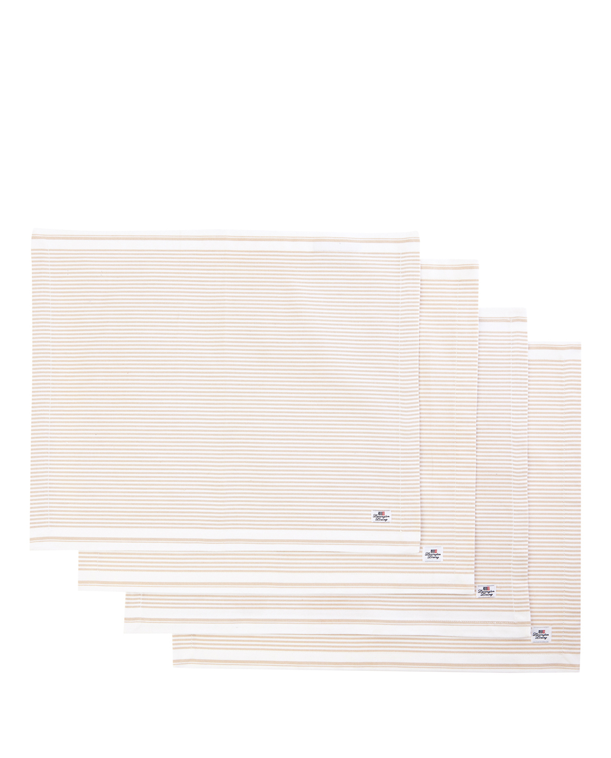 Icons Oxford Beige/White Striped Placemat