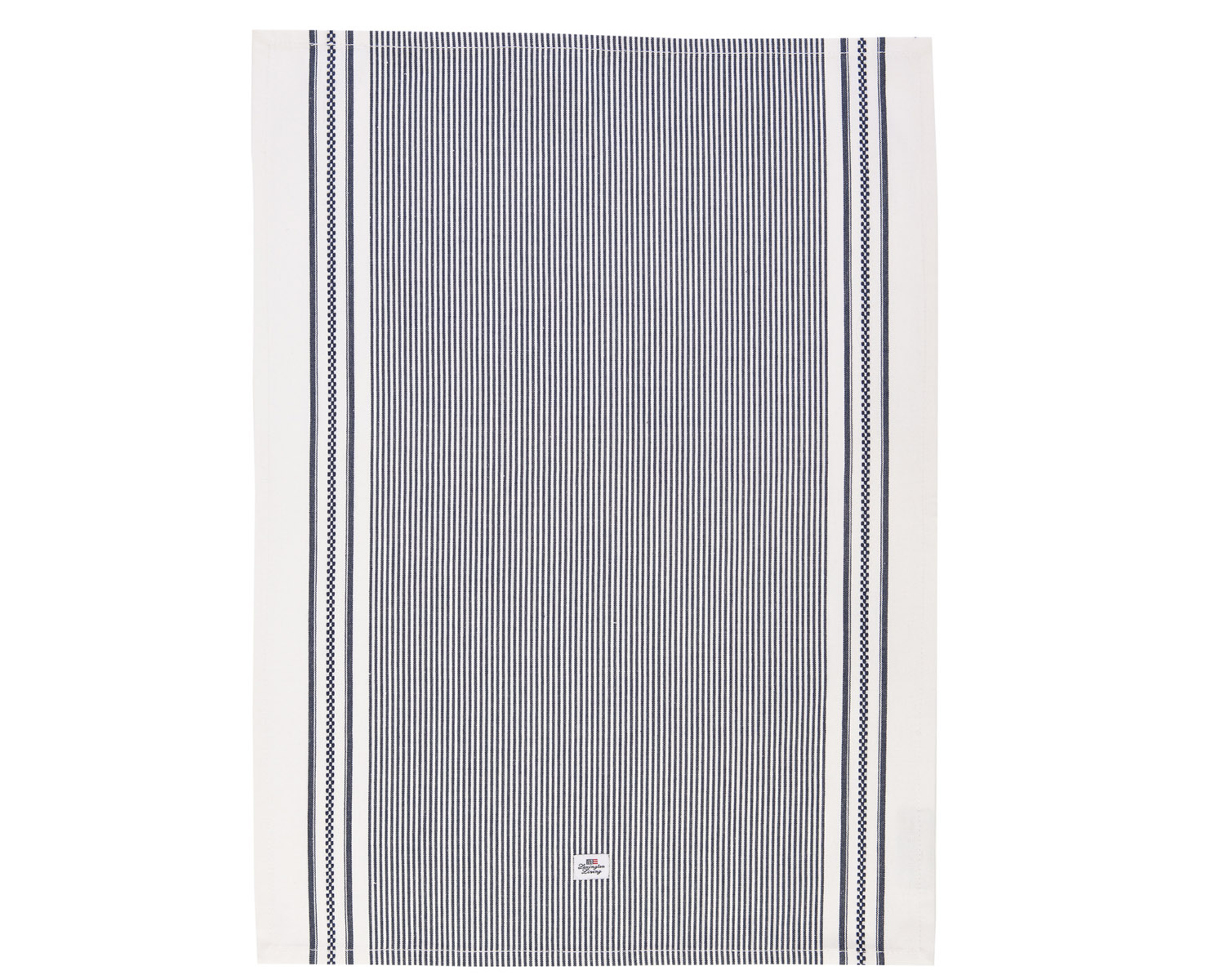 Oxford Navy/White Striped Kitchen Towel