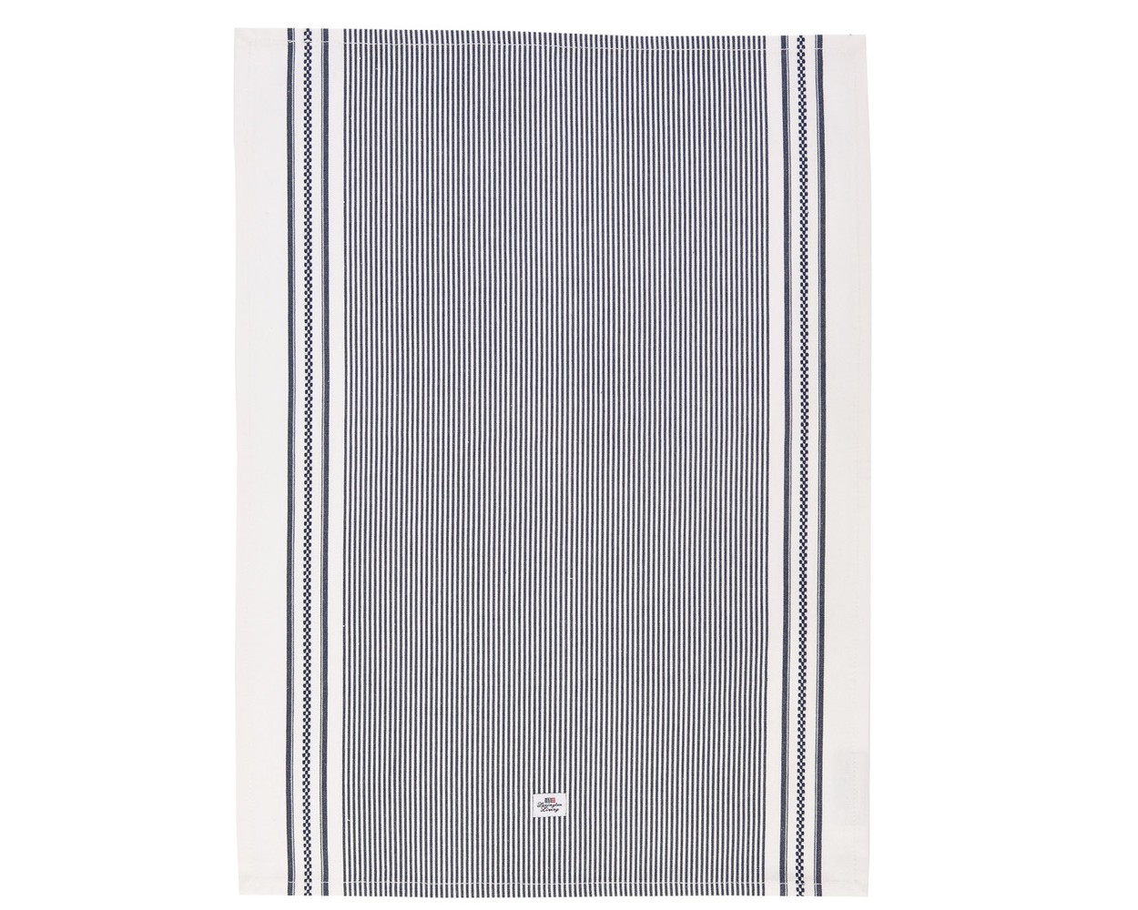 Oxford Navy/White Striped Kitchen Towel ...