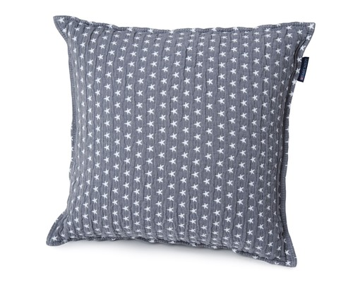 Icons Star Sham Medium Gray