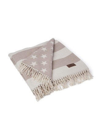 Icons Flag Throw White/Beige