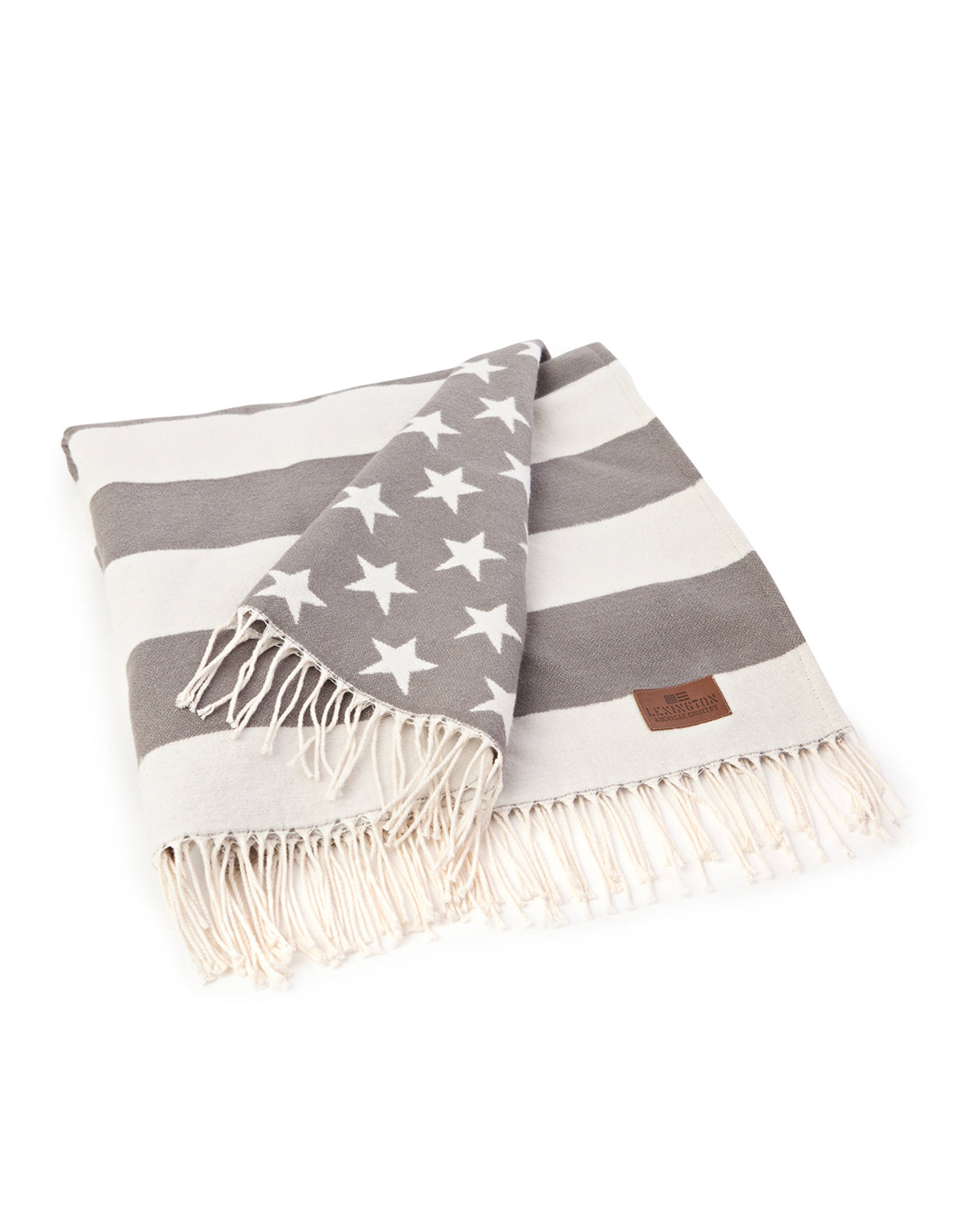 Icons Flag Throw White/Gray