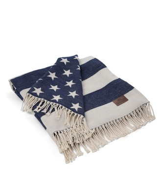 Icons Flag Throw White/Navy
