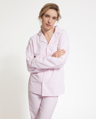 Unisex American Authentic Pajamas Pink/White