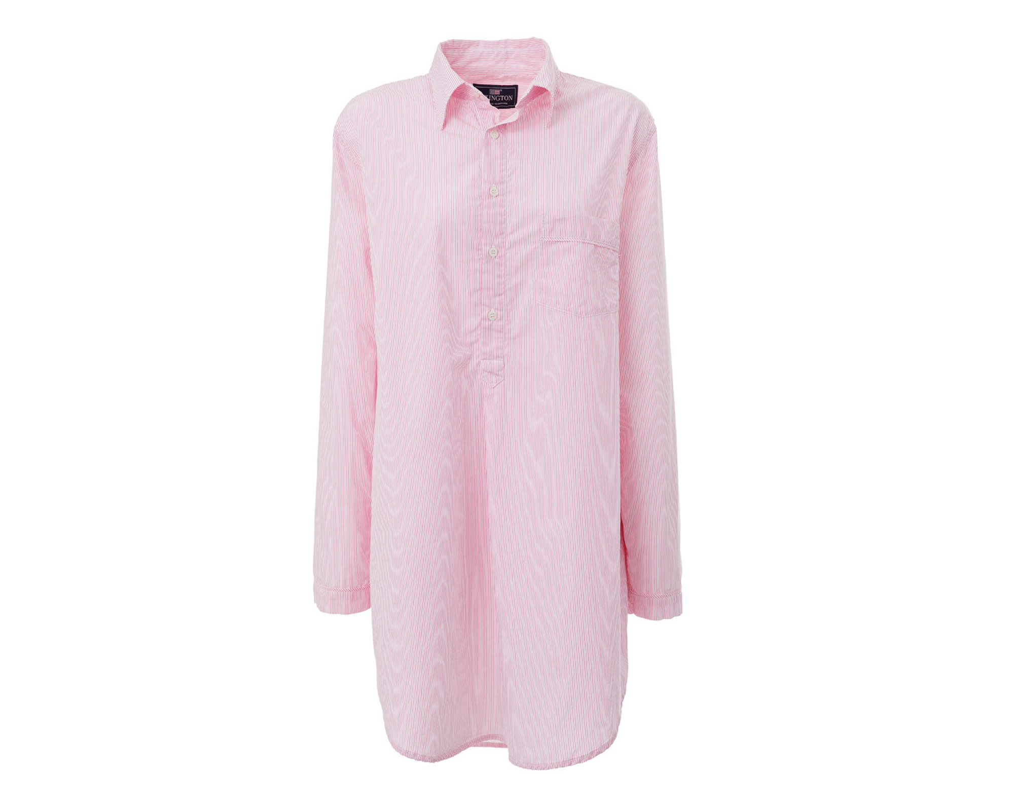 Nightshirt, Pink/White