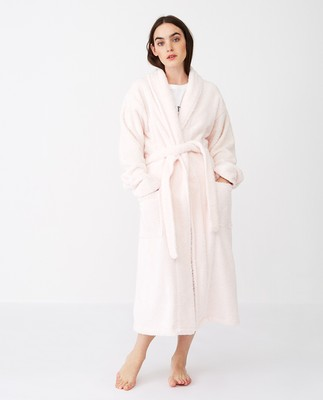 Icons Unisex Original Bathrobe, Pink