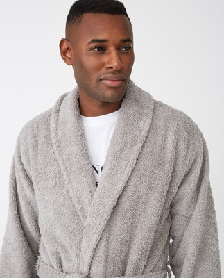 Icons Unisex Original Bathrobe, Gray